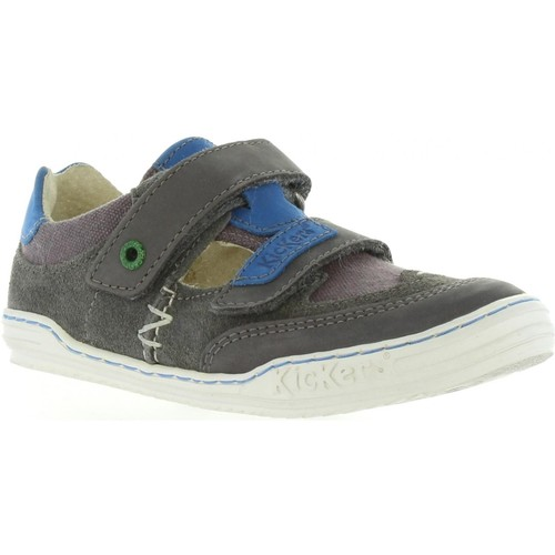 Chaussures Garçon Ville basse Kickers 414590-30 JYKROI Gris