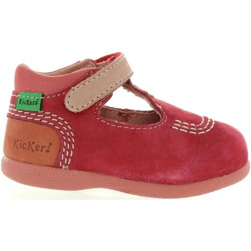 Chaussures Enfant Ville basse Kickers 413122-10 BABYFRESH Rojo