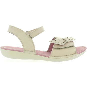 Chaussures Fille Sandales et Nu-pieds Kickers 469040-30 EDANA Blanco