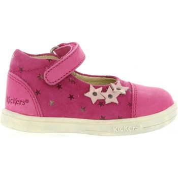 Chaussures Fille Ville basse Kickers 413503-10 TREMIMI Rosa