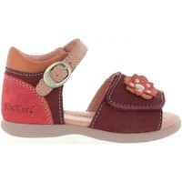 Chaussures Fille Sandales et Nu-pieds Kickers 469640-10 BABYGIRL Morado