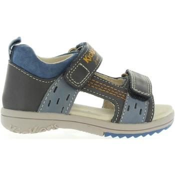Chaussures Garçon Sandales et Nu-pieds Kickers 414741-11 PLAZABI Azul