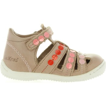 Chaussures Fille Sandales et Nu-pieds Kickers 469680-10 GIFT Beige