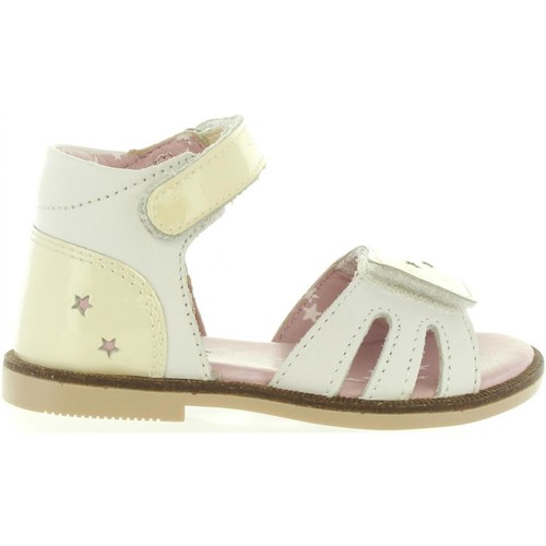 Chaussures Fille Sandales et Nu-pieds Kickers 469890-11 MOONSTAR Blanco
