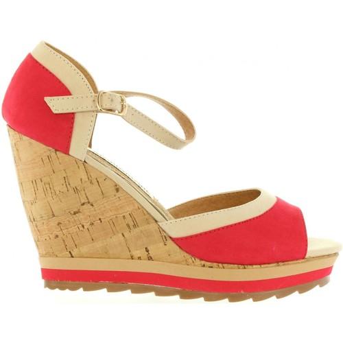 Chaussures Femme Sandales et Nu-pieds Maria Mare 65895 Rojo