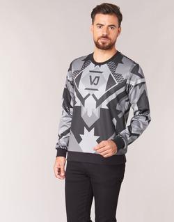Vêtements Homme Sweats Versace Jeans B7GQA7F5 Noir / Gris