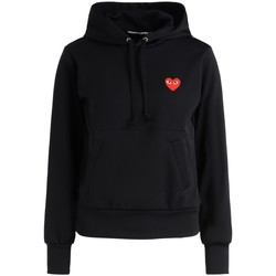 Vêtements Femme Sweats sages femmes en Afriques Sweat-shirt  noir avec un cœur rouge Noir