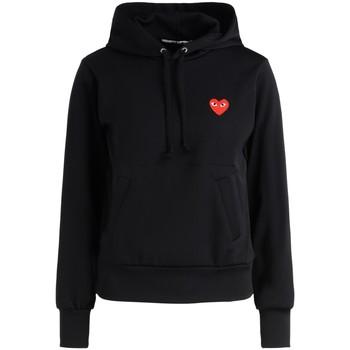Vêtements Femme Sweats Comme Des Garcons Sweat-shirt  noir avec un cœur rouge Noir