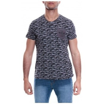 Vêtements Homme T-shirts & Polos Ritchie T-SHIRT V MACHA Gris