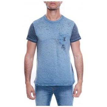 Vêtements Homme T-shirts & Polos Ritchie T-SHIRT MANKATO Bleu