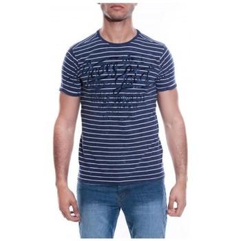 Vêtements Homme T-shirts & Polos Ritchie T-SHIRT MORVAN Bleu