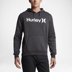 Vêtements Homme Sweats Hurley Sweat  Surf Club One&only Pullover 2.0 Blk H Anthracite