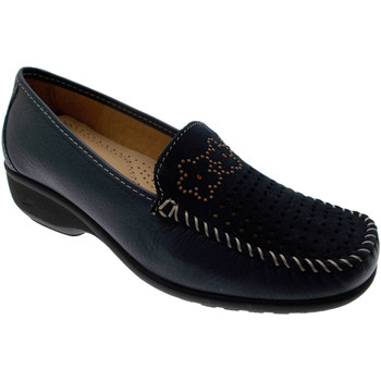 Chaussures Femme Mocassins Calzaturificio Loren LOK3971bl blu