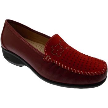 Chaussures Femme Mocassins Loren LOK3971ro rosso
