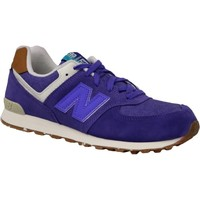 Chaussures Enfant Baskets basses New Balance 574 Violet