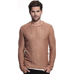 Vêtements Homme Pulls Beststyle Pull d'été homme marron slim fit fashion Marron