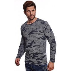 Vêtements Homme Pulls Beststyle Pull homme camouflage marine Marine