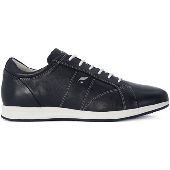 Chaussures Femme Baskets basses Geox Avery A Nappa Blanc-Noir