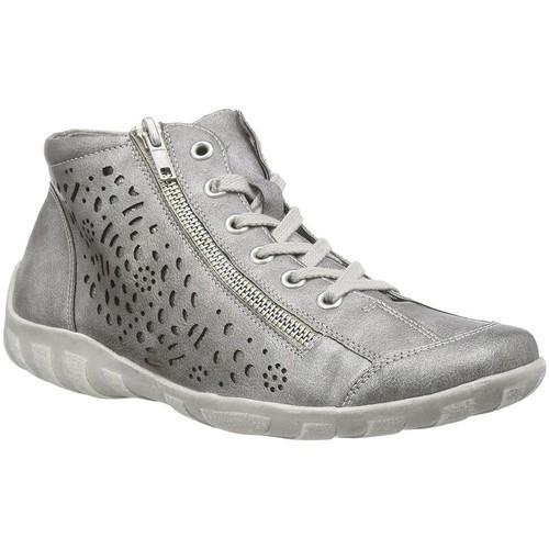 Remonte Dorndorf r3463 gris - Chaussures Basket montante Femme