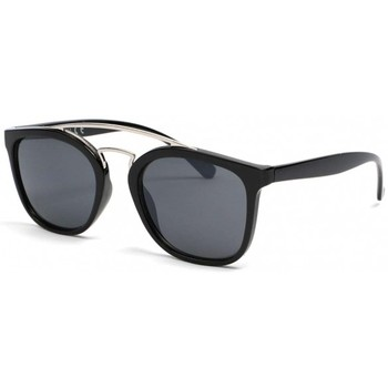 Montres & Bijoux Homme Lunettes de soleil Eye Wear Lunettes de soleil noires tendance Pravka Noir
