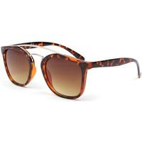 Montres & Bijoux Homme Lunettes de soleil Eye Wear Lunettes de soleil marron tendance Pravka Marron