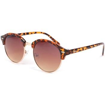 Montres & Bijoux Homme Lunettes de soleil Eye Wear Lunettes de soleil retro marron Brody Marron
