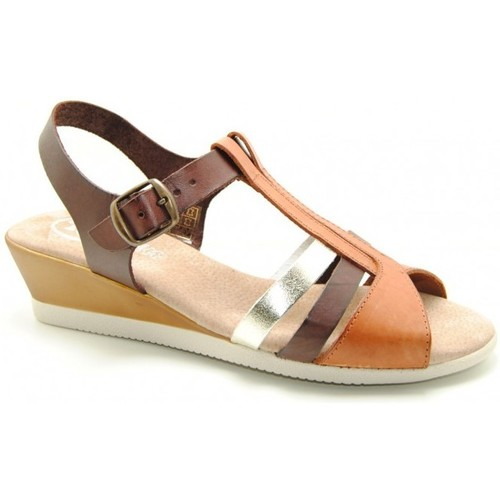 Chaussures Femme Sandales et Nu-pieds Oh Isabella SANDALIA MUJER - marron