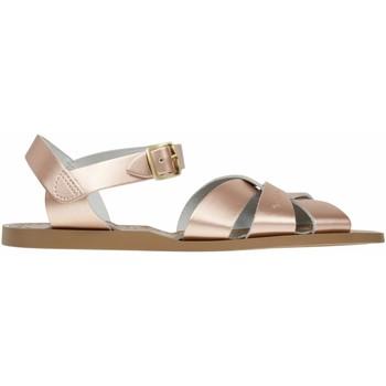 Chaussures Fille Sandales et Nu-pieds Salt Water Sandales en cuir  Original Rose