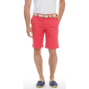 Vêtements Homme Shorts / Bermudas Ruckfield Bermuda chino rouge rugby Rouge