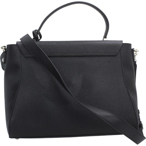 Sacs Femme Sacs Bandoulière Guess MARTINE TOP HANDLE FLA Noir