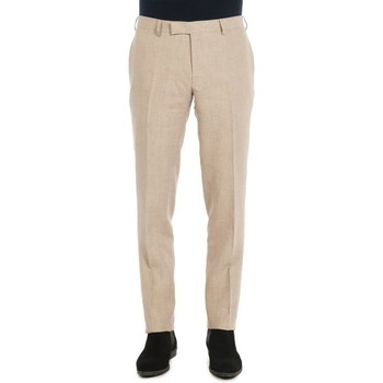 Vêtements Homme Chinos / Carrots Jerem Pantalon en lin Beige BE28
