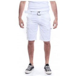 Vêtements Homme Shorts / Bermudas Ritchie BERMUDA BATTLE BASTAING Blanc