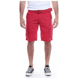 Vêtements Homme Shorts / Bermudas Ritchie BERMUDA BATTLE BASTAING Rouge foncé