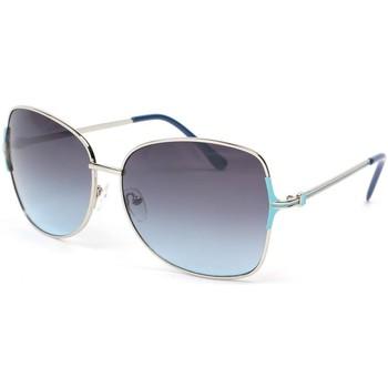 Montres & Bijoux Femme Lunettes de soleil Eye Wear Lunettes de soleil femme grises et bleues Babe Bleu