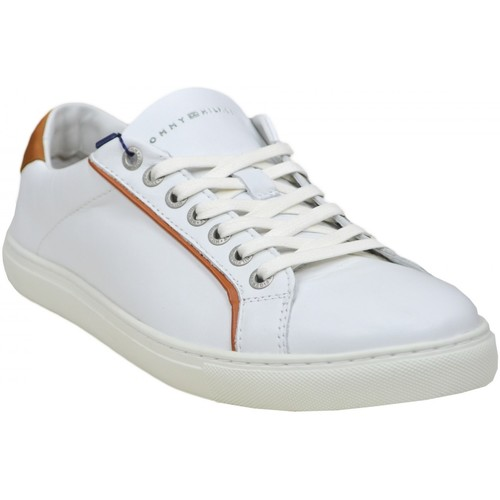 Chaussures Homme Baskets basses Tommy Hilfiger Baskets  Mount blanche pour homme Blanc