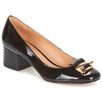 Chaussures Femme Escarpins MICHAEL Michael Kors GLORIA MID PUMP Noir
