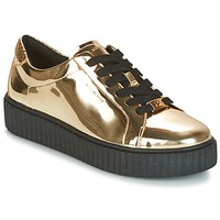 Chaussures Femme Baskets basses MICHAEL Michael Kors TRAVOR LACE UP Doré