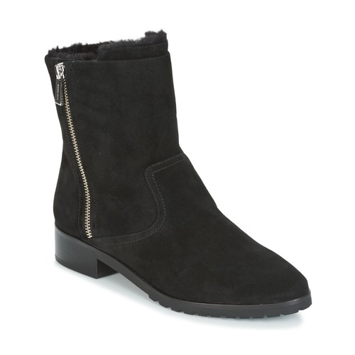 Chaussures Femme Boots MICHAEL Michael Kors ANDI FLAT BOOTIE Noir