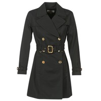 Vêtements Femme Trenchs MICHAEL Michael Kors PLEATED TRENCH Noir