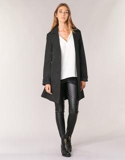 Vêtements Femme Trenchs MICHAEL Michael Kors PLEATED TRENCH Noir
