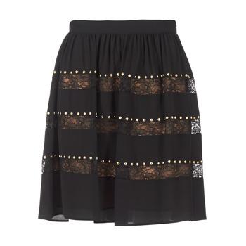 Vêtements Femme Jupes MICHAEL Michael Kors HT/ LACE MIX Noir