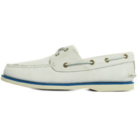 Chaussures Homme Chaussures bateau Timberland Classic Boat 2 Eye blanc
