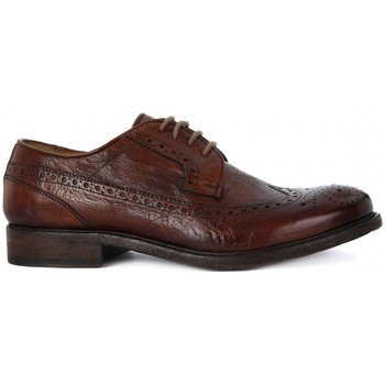 Chaussures Homme Ville basse Kammi BRECOS  ALLACCIATA BUFALO BRANDY    135,6