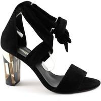 Chaussures Femme Sandales et Nu-pieds Sapena SAP-E17-33379-NE Nero
