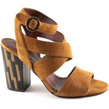 Chaussures Femme Sandales et Nu-pieds Sapena SAP-E17-33383-KA Marrone