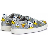 Chaussures Femme Baskets mode Moa - Master Of Arts MOA Master of Arts MD46 Donald Duck argenté - baskets femme Argenté