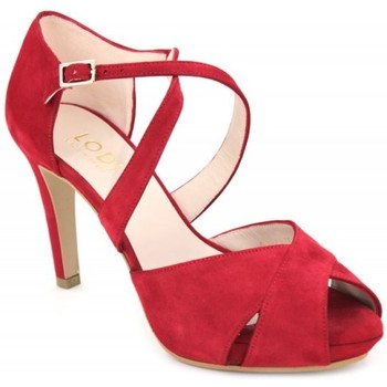 Chaussures Femme Sandales et Nu-pieds Lodi GIANINA rouge