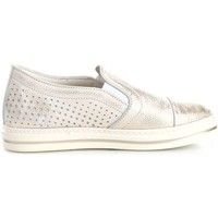 Chaussures Femme Ballerines / babies Melluso 05807 Ballerines et Mocassins Femme Platinum Platinum