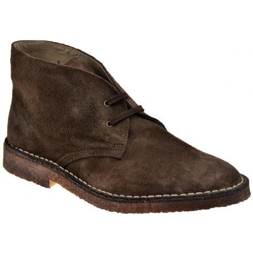 Chaussures Homme Boots Koloski Desert Casual montantes Marron