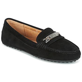 Chaussures Femme Mocassins Ralph Lauren BERDINE Noir